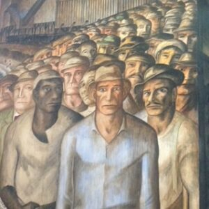 Workers in Coit Tower Mural